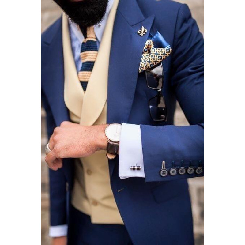 Horgolt mintás nyakkendő